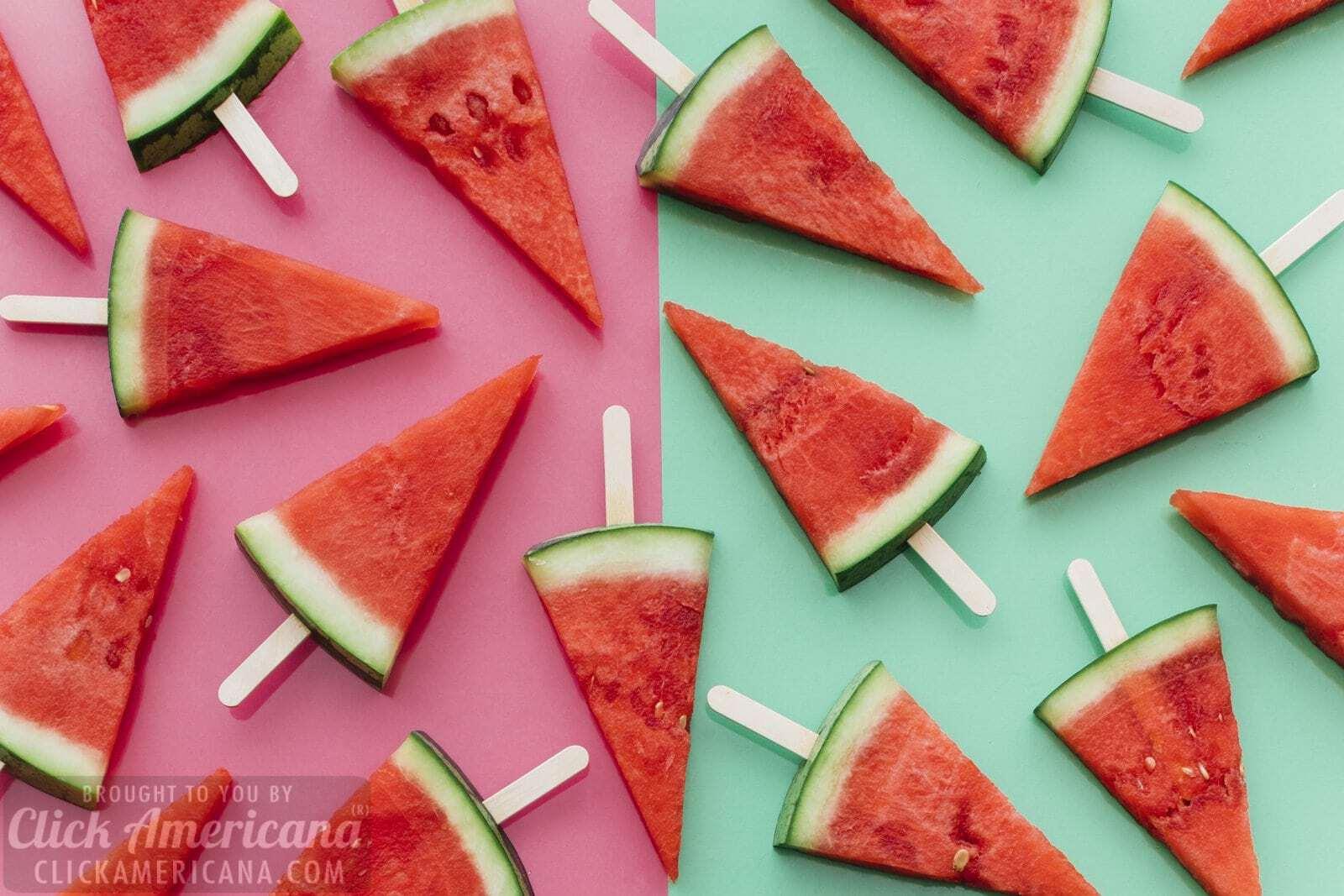 17 Wild Wonderful Watermelon Recipes 1972 Click