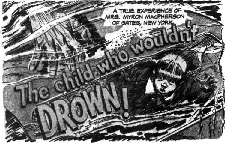 Funnies section Eveready Battery ad - The child who wouldn't drown 1952 (2)