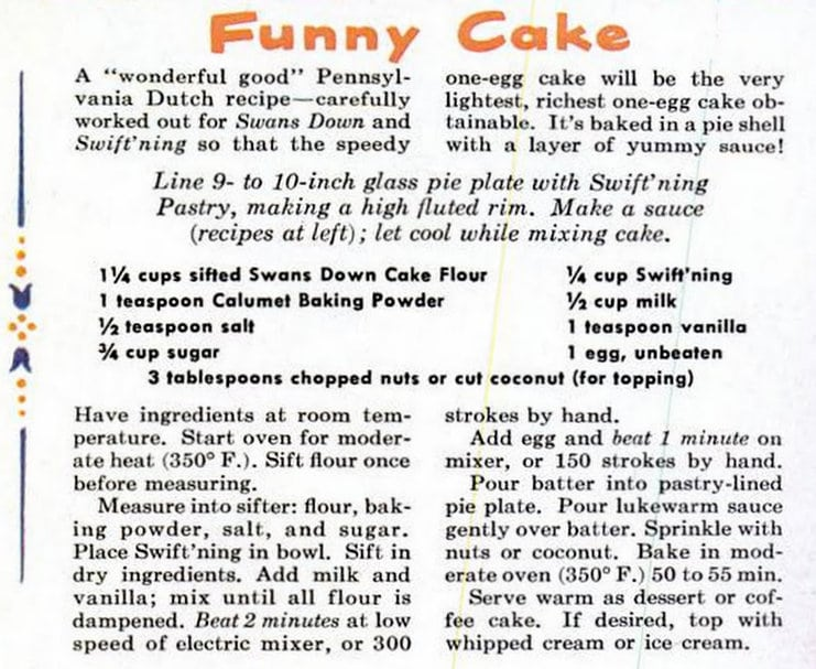How to make a Funny Cake