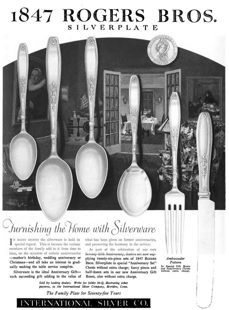 Furnishing the home with silverware (1922)
