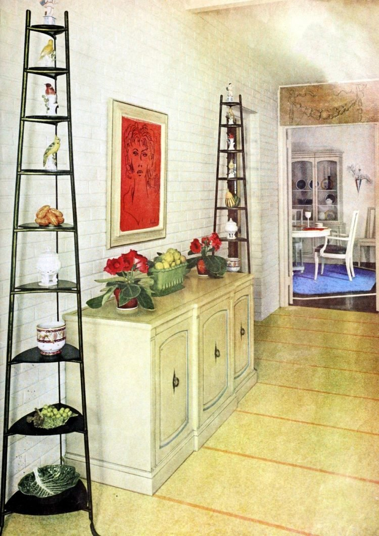 Furniture and shelves - Vintage sixties Scholz Mark 60 house
