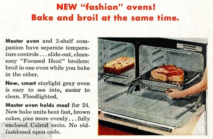 GE Deluxe Speed-Cooking ranges from 1955 (4)