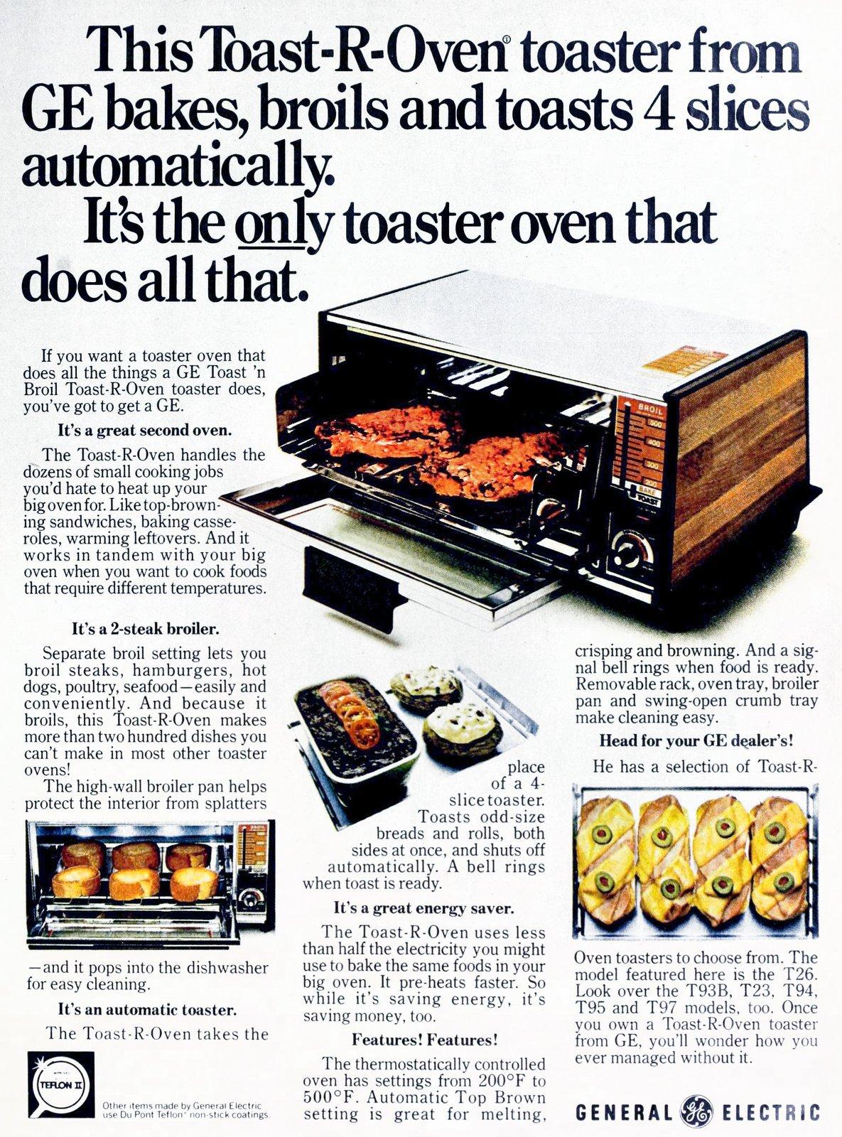 GE retro toaster oven (1976)