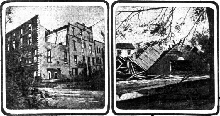 Galveston disaster 1900 - Wreck of the Masonic Temple - This roof was blown half a mile