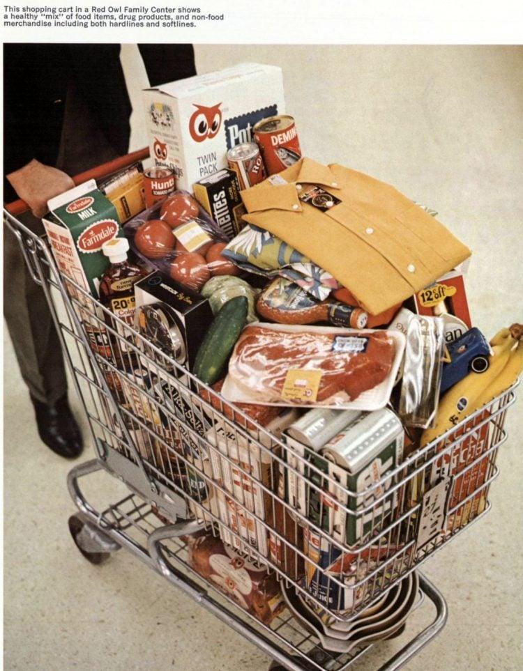 Gamble-Skogmo vintage grocery store - 1968 10