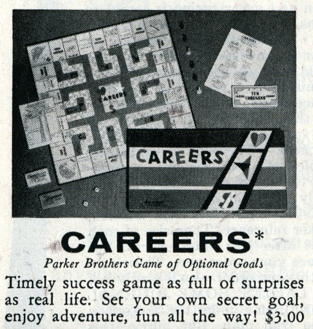 Games from the 1960s - Careers