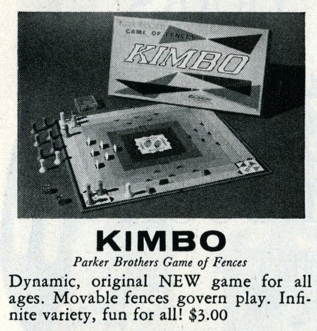 Games from the 1960s - Kimbo - 1960