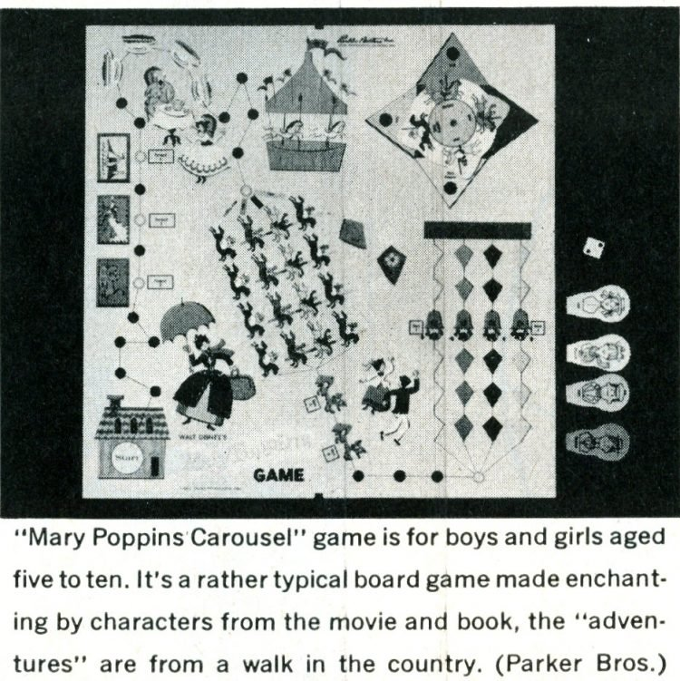Games from the 1960s - Mary Poppins Carousel