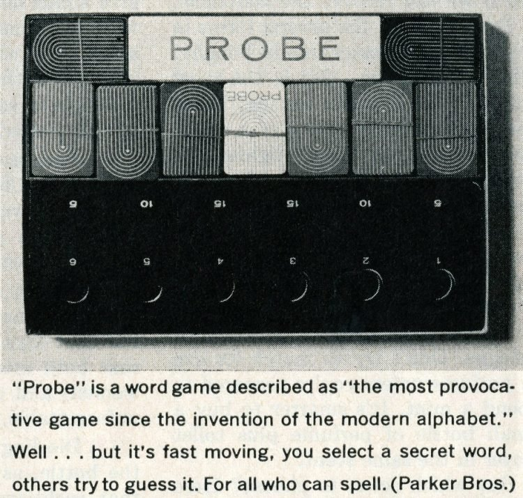 Games from the 1960s - Probe - 1964