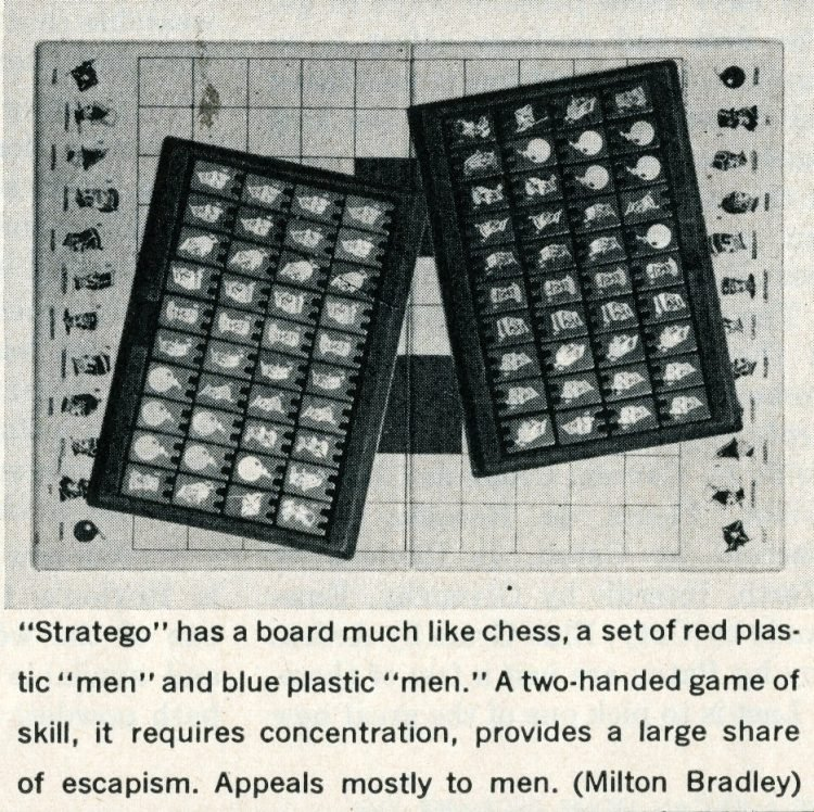 Games from the 1960s - Stratego