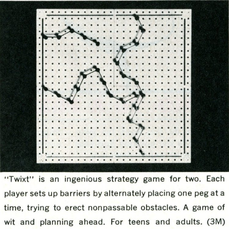 Games from the 1960s - Twixt