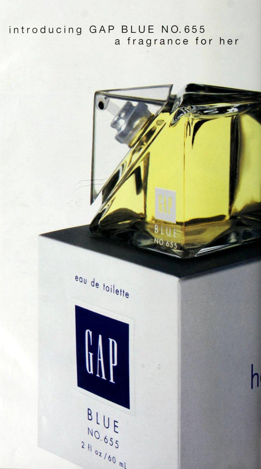 Gap Blue No 655 fragrance for her (1995) at ClickAmericana com