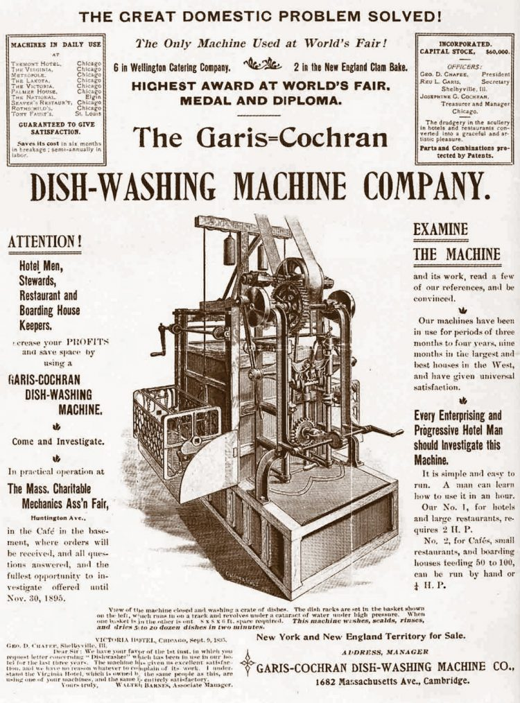 Garis-Cochran Dish Washing Machine Company