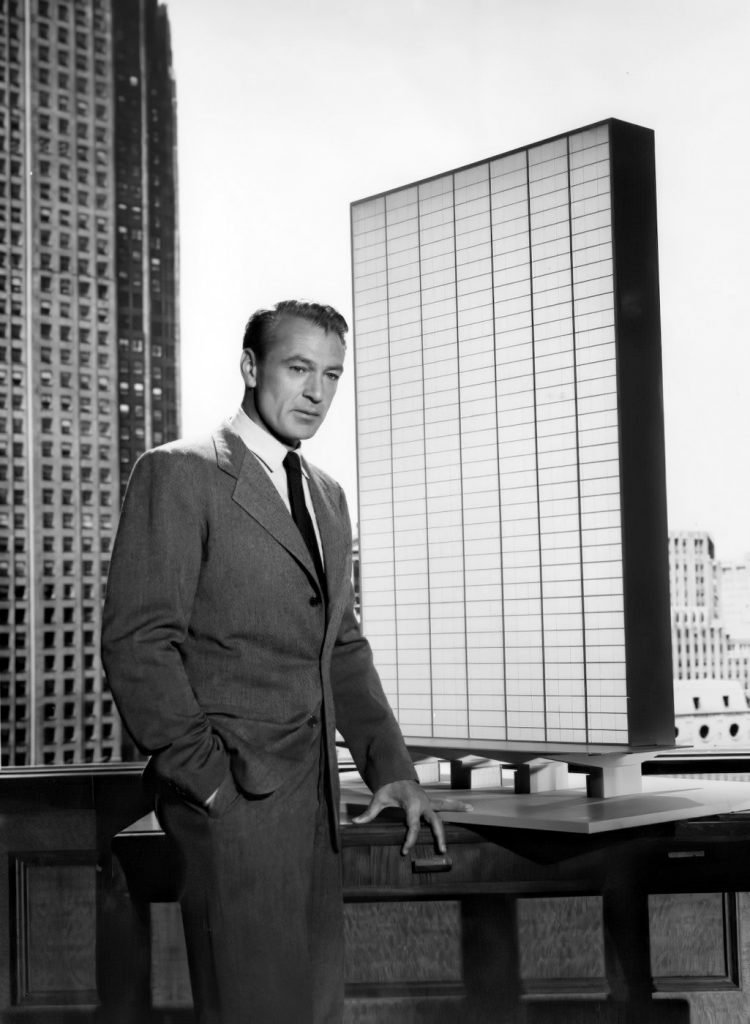 Gary Cooper in The Fountainhead movie (1949)