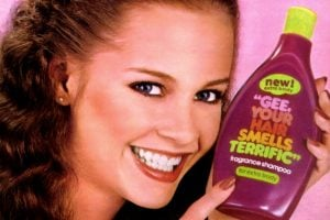 Gee, Your Hair Smells Terrific vintage shampoo