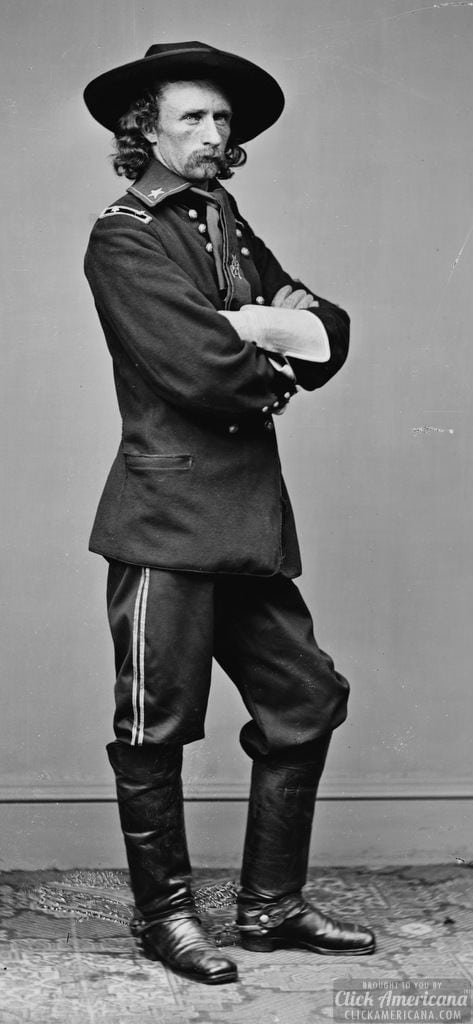 Gen. George Custer, May 23, 1865
