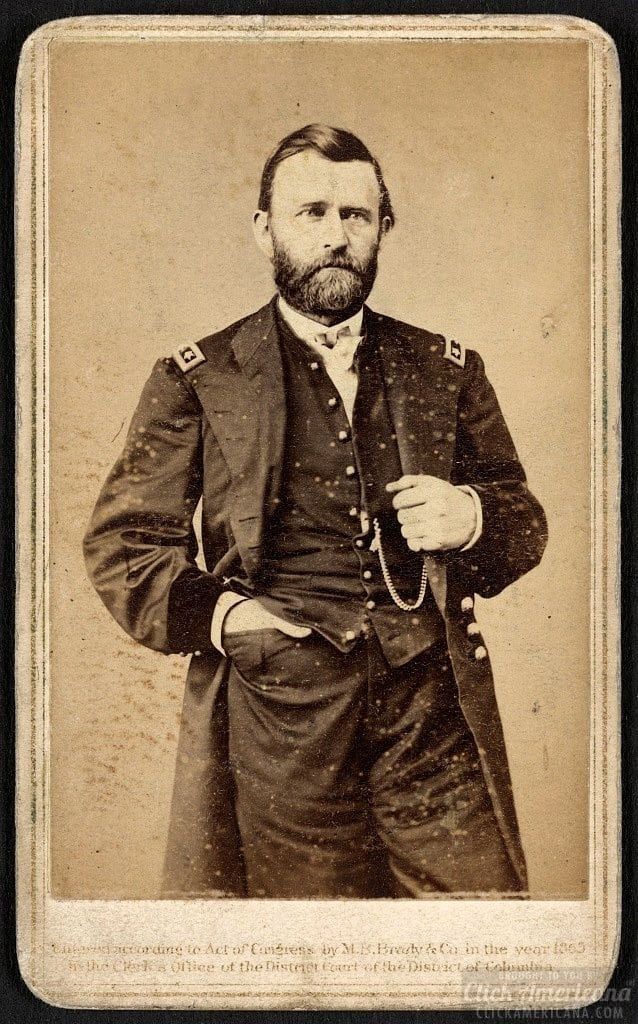 Gen. Ulysses S. Grant in military uniform 1865