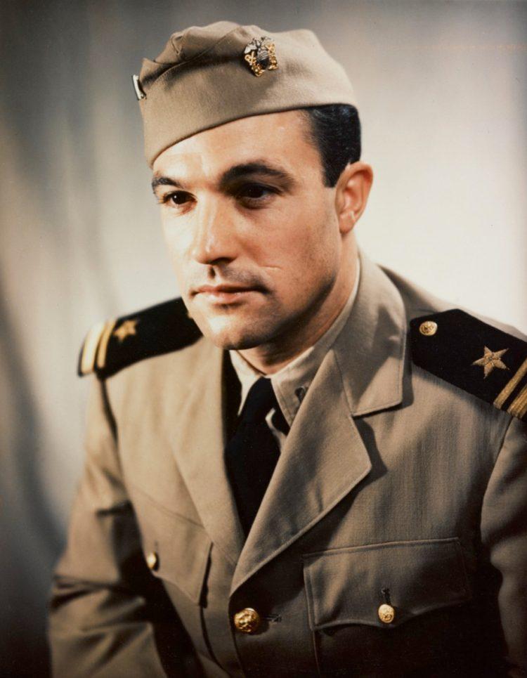 Gene Kelly in military uniform