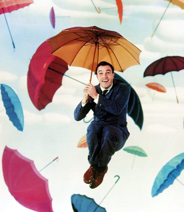 Gene Kelly with umbrellas - Click Americana