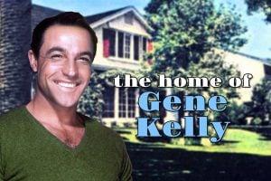Gene Kelly's home in 1950