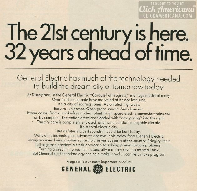 General Electric Disneyland 1968 electricity (1)