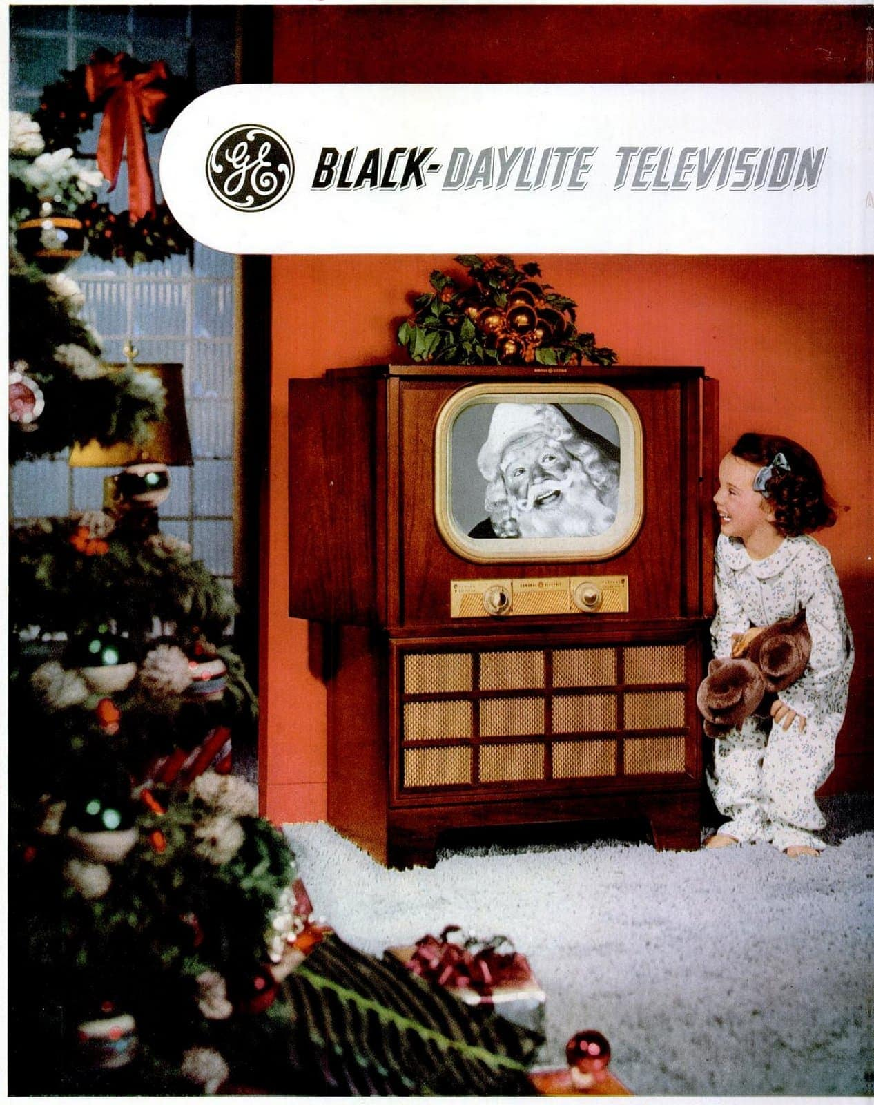 General Electric TV sets for Christmas from 1950 (2)