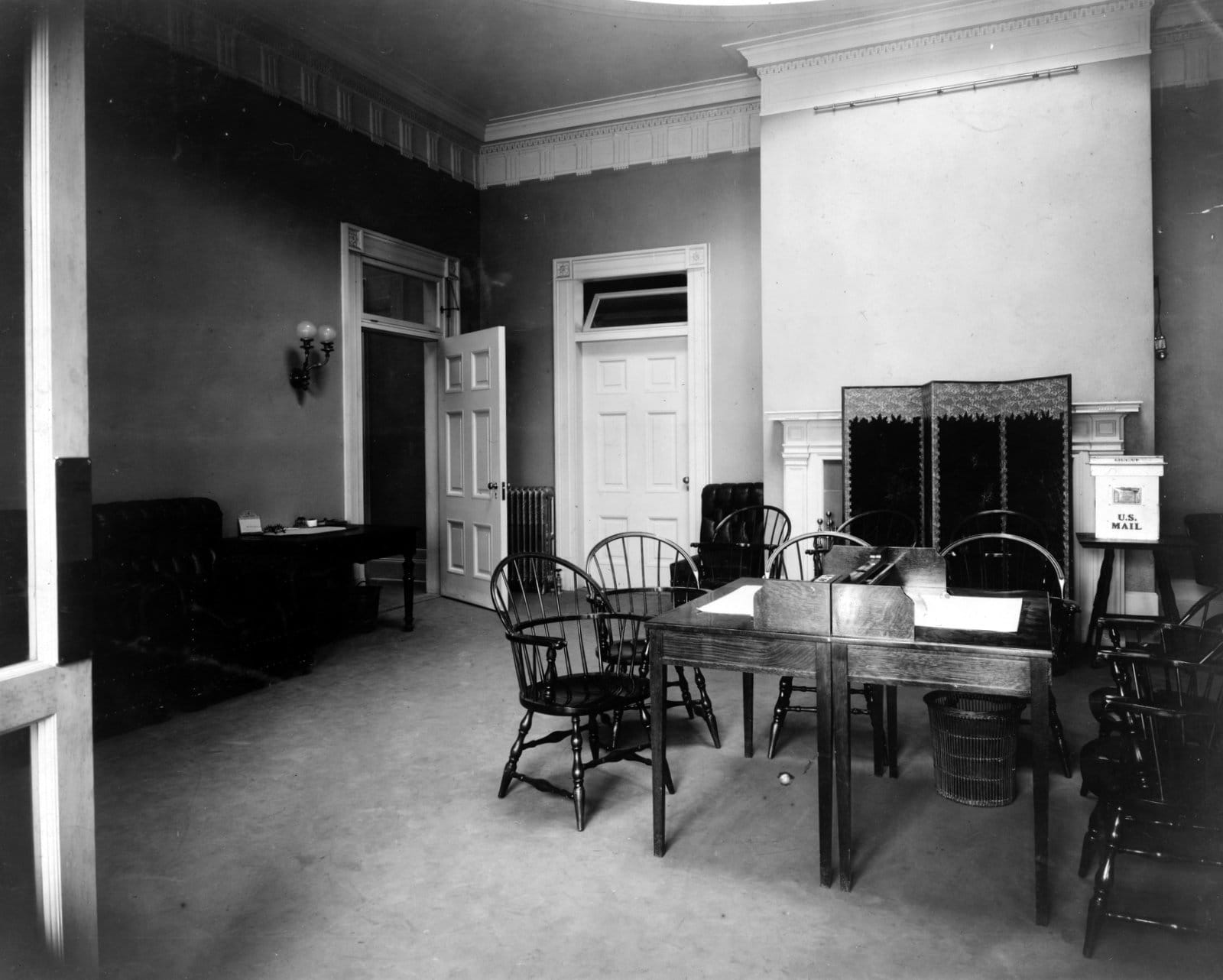 General reception room, new White House offices (1903)