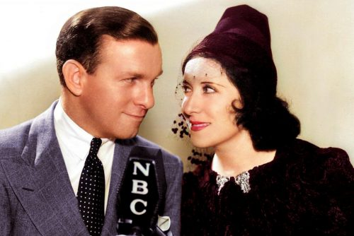 George Burns and Gracie Allen - Burns and Allen comedy duo