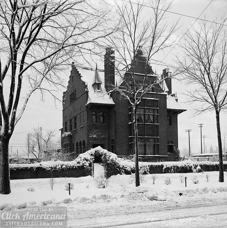 George Gough Booth house Detroit, Mich. c1900