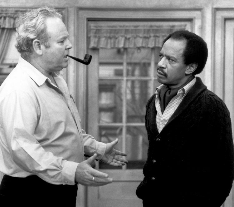George Jefferson and Archie Bunker - All in the Family