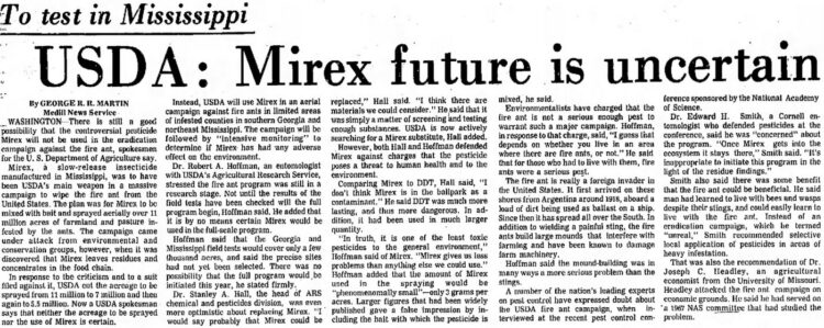 George RR Martin article in Delta Democrat-Times (Greenville, Mississippi) April 4, 1971