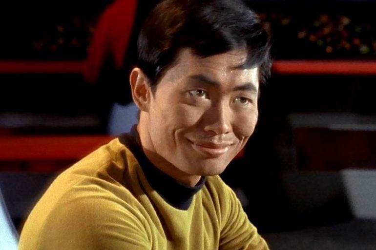 George Takei as Sulu in Star Trek