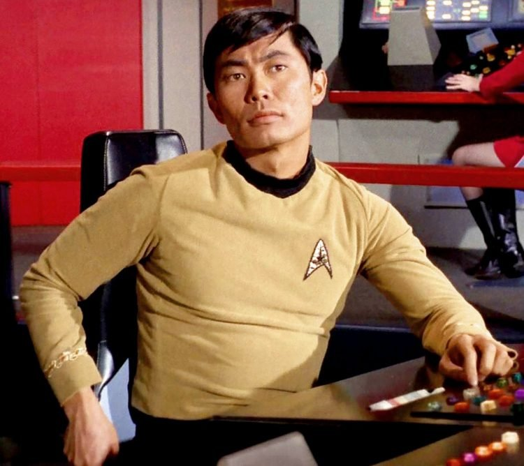 George Takei as Sulu in Star Trek TV show