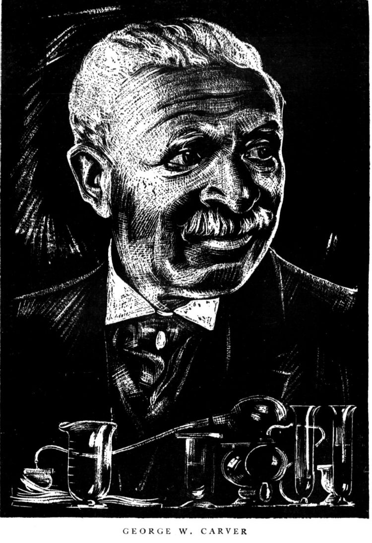 George Washington Carver illustration 1931