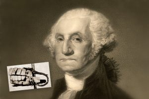 George Washington - false teeth-dentures