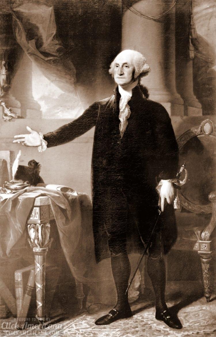 George Washington portrait - standing