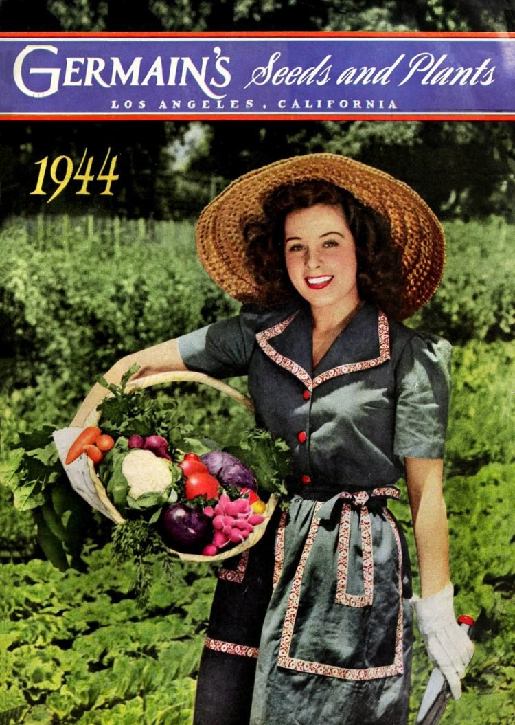 Germain's Seeds and Plants catalog from 1944