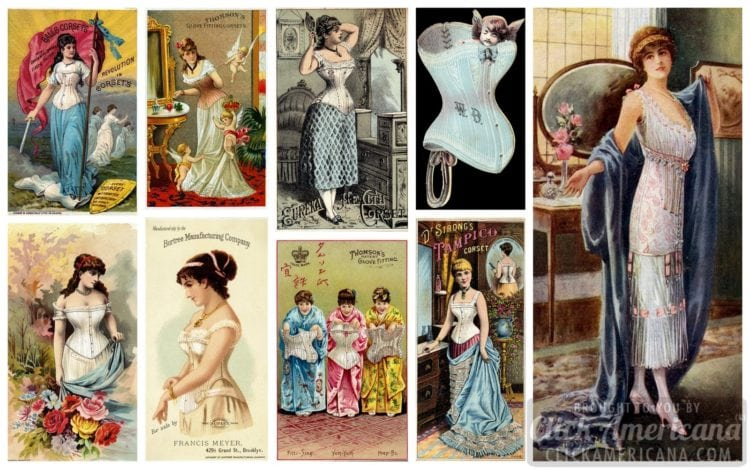 Get laced up with more than 200 classic Victorian corsets