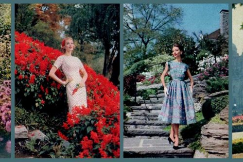 Gettin' dressy with vintage casual dresses January to June fashions of the fifties (1956)
