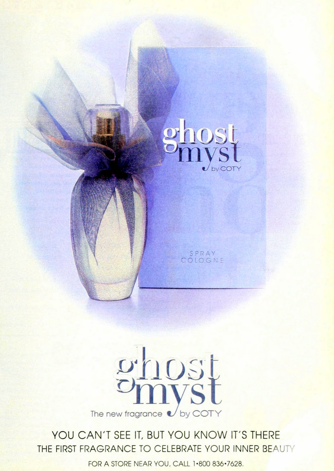 Ghost Myst fragrance from Coty (1995) at ClickAmericana.com