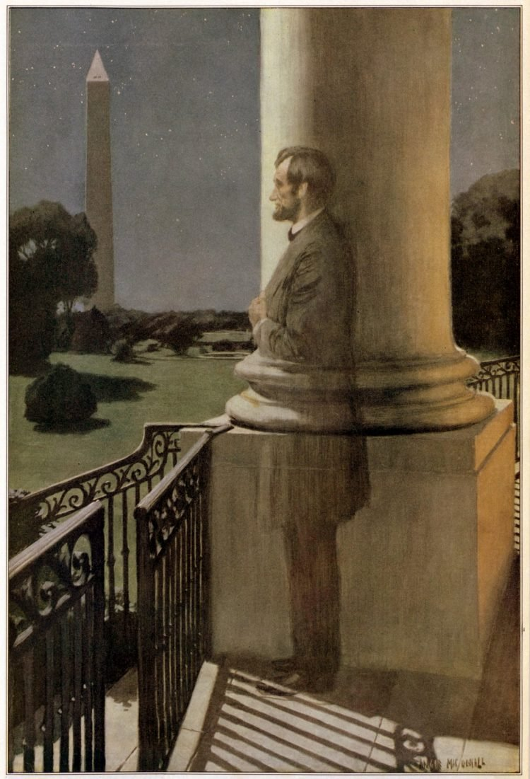 Ghost of President Lincoln 1919