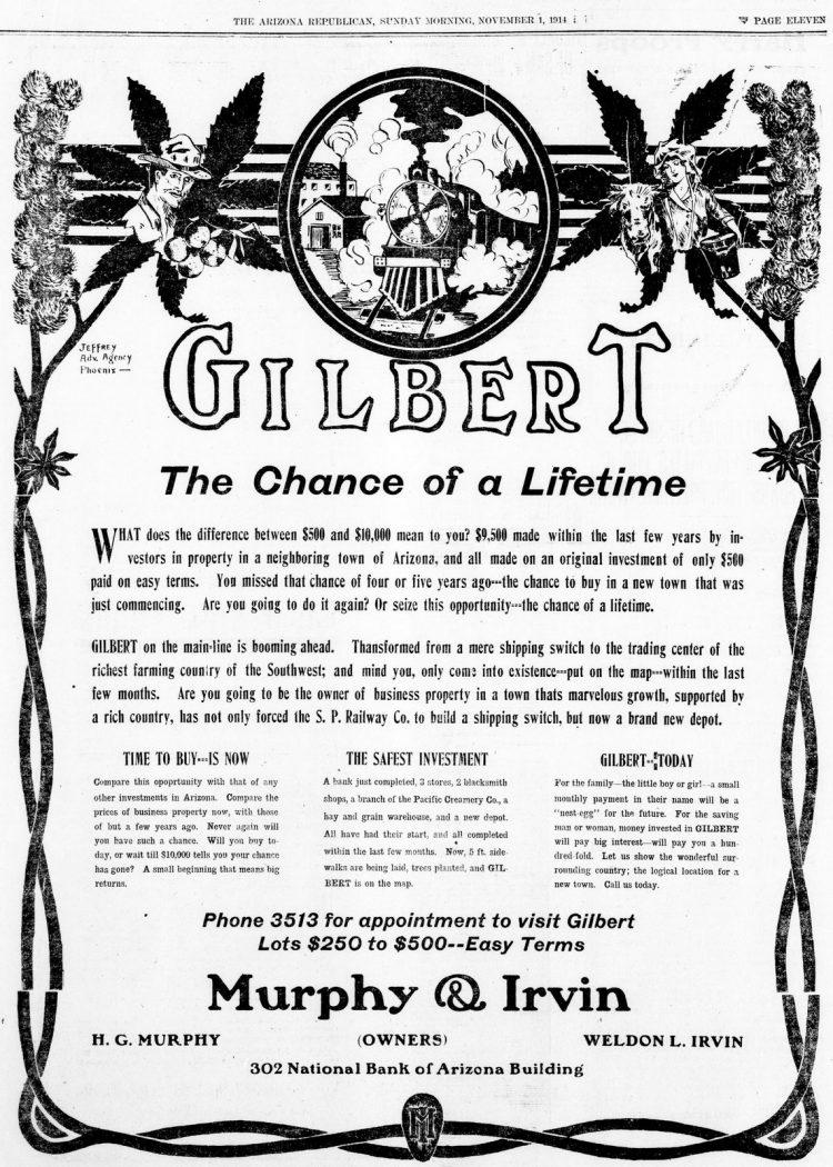 Gilbert The chance of a lifetime (November 1, 1914)