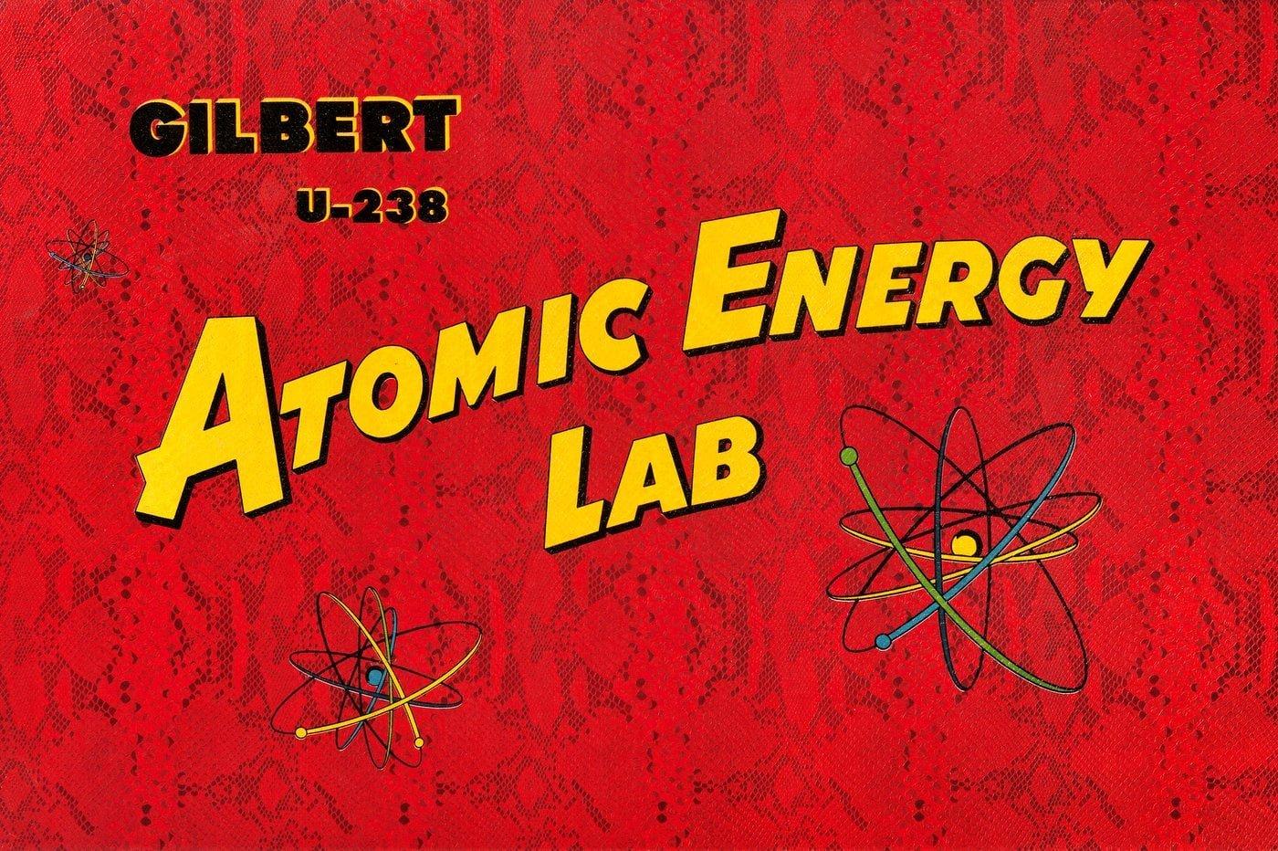 Gilbert U-238 Atomic Energy Lab