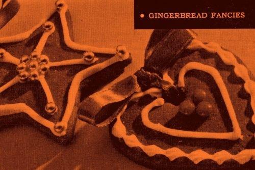 Gingerbread Fancies Christmas cookies (1959)