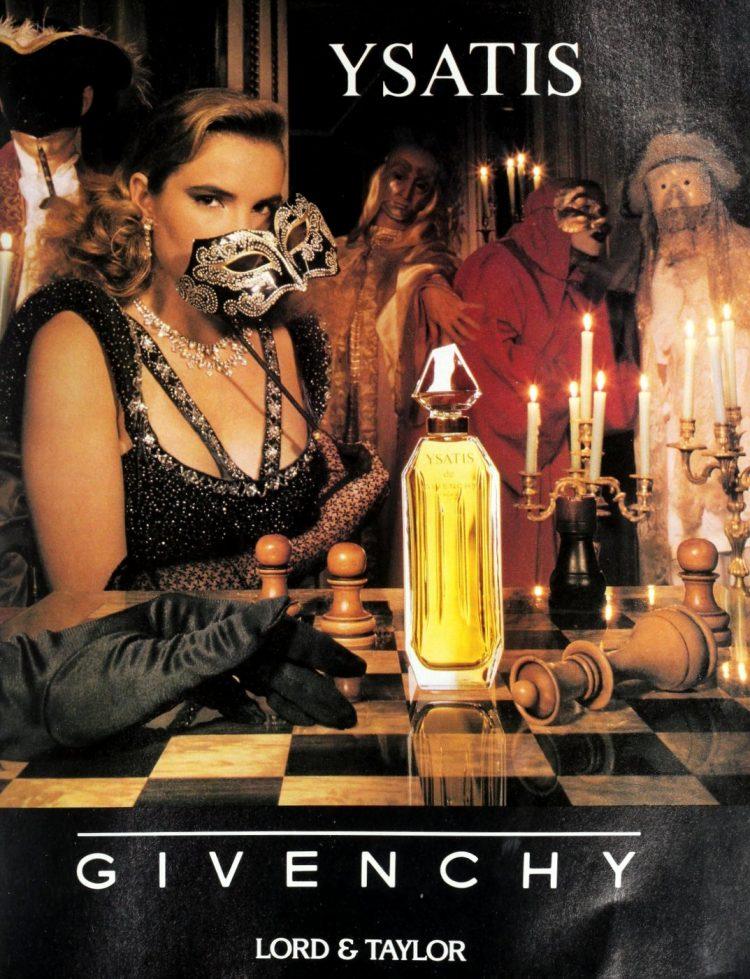 Givenchy Ysatis fragrance - 1988