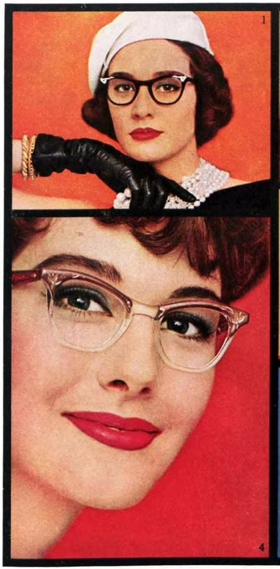Glasses for your face - Tips from the 1950s (1)
