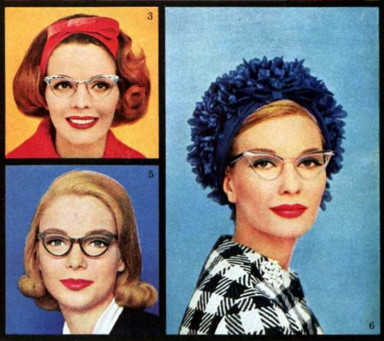Glasses for your face - Tips from the 1950s (2)