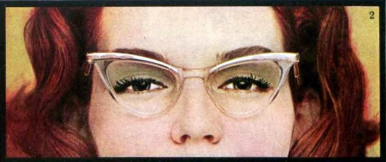 Glasses for your face - Tips from the 1950s (3)