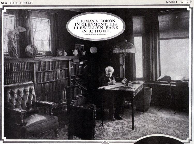 Glenmont - Thomas Edison at home