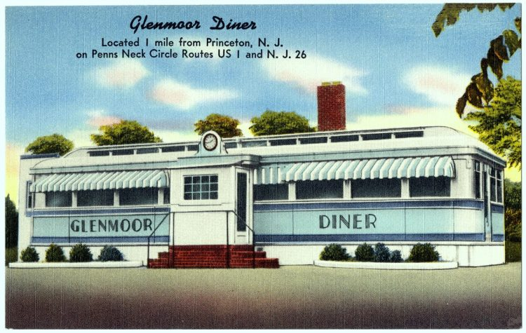 Glenmoor Diner, located 1 mile from Princeton, N. J., on Penns Neck Circle Routes US 1 and N. J. 26